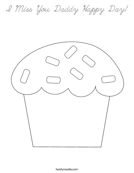 Sweet treat Coloring Page