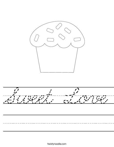 Sweet treat Worksheet