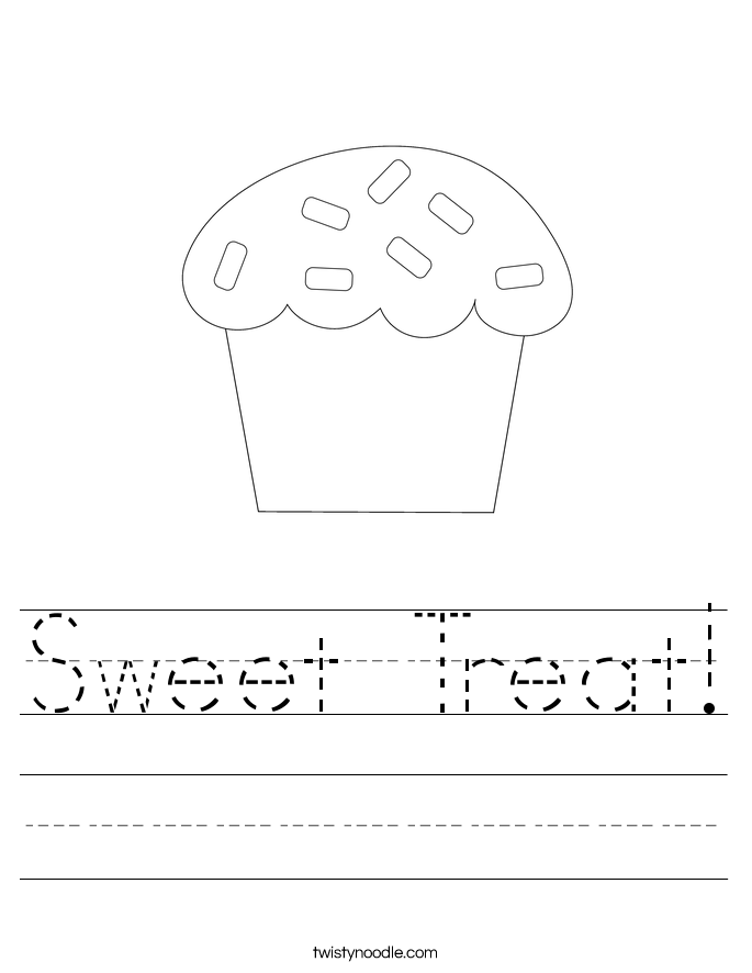 Sweet Treat! Worksheet