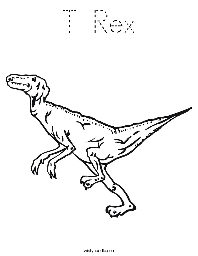 T Rex Outline Submited Images