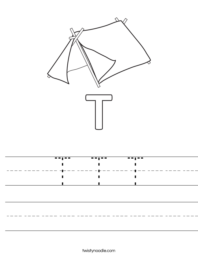 T T T Worksheet