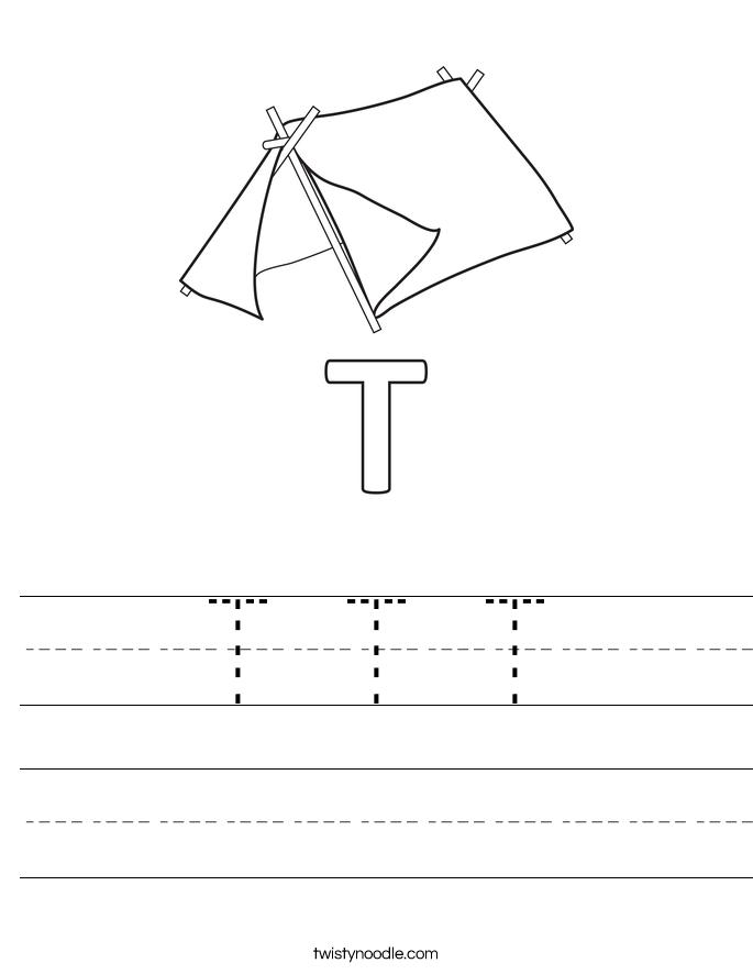 T T T Worksheet