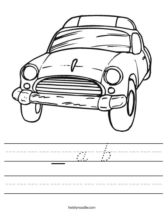 _ a b Worksheet