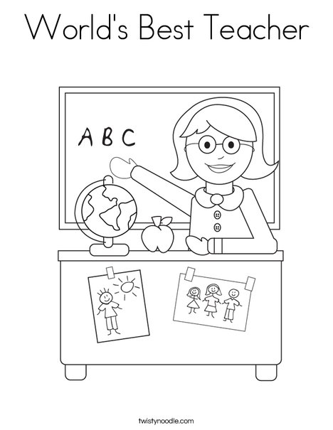 coloring book pages for educators - photo#25