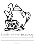 Look what's brewing Worksheet