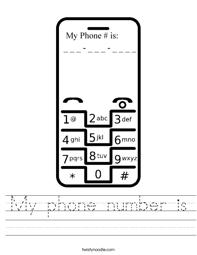 My phone number - September 2018 Coupons
