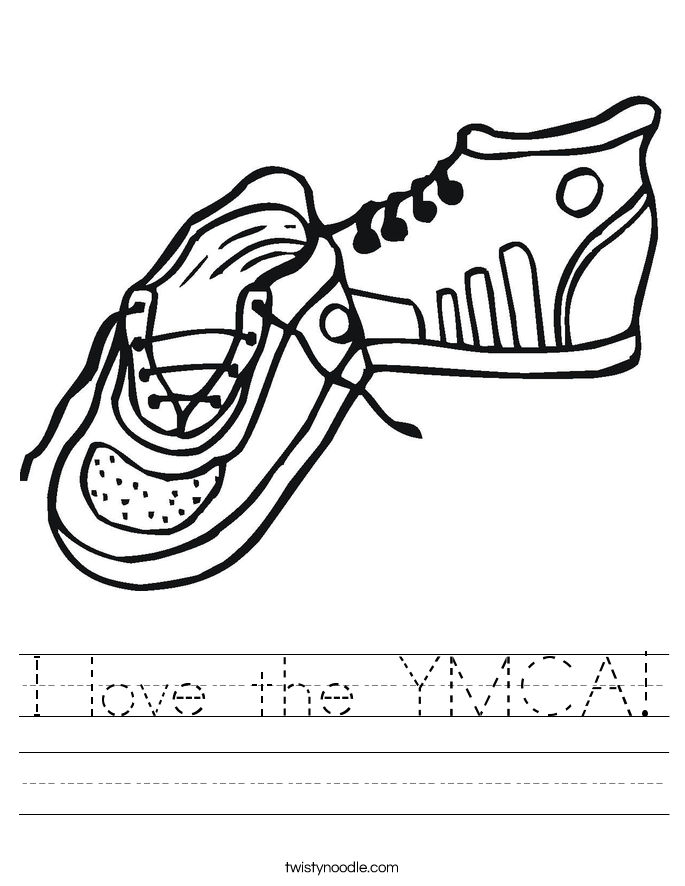 I love the YMCA! Worksheet
