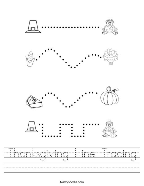 Car Racing Line Tracing Prewriting Worksheet | MyTeachingStation.com