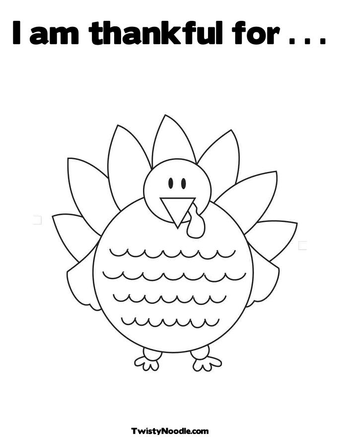 thankful coloring pages eson