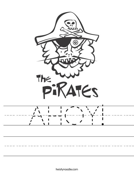 The Pirates Worksheet