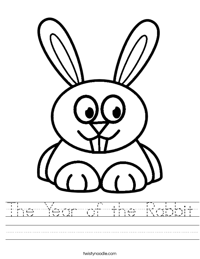 Rabbit Worksheets Worksheets for all | Download and Share ...