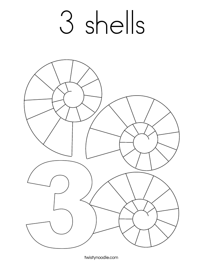 baptism shell coloring pages - photo#36