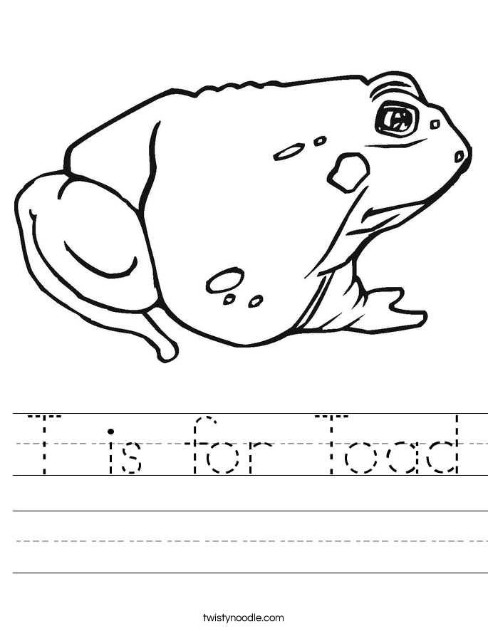 and toad homework