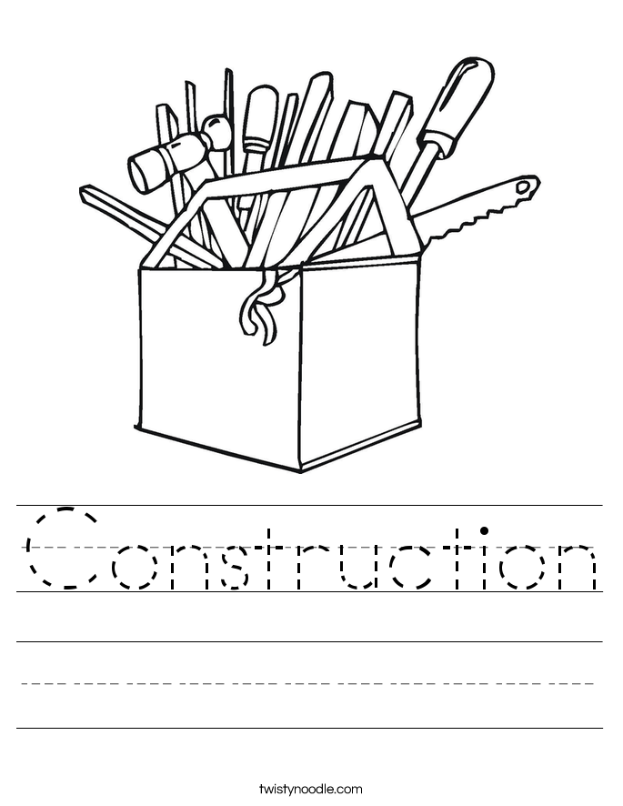 Construction Worksheet