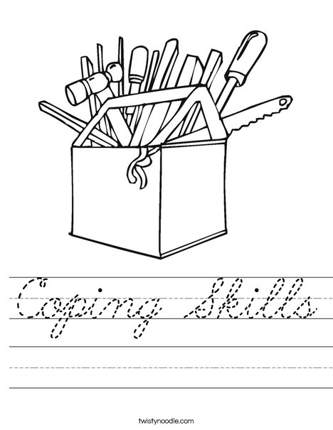 Tool Box Worksheet