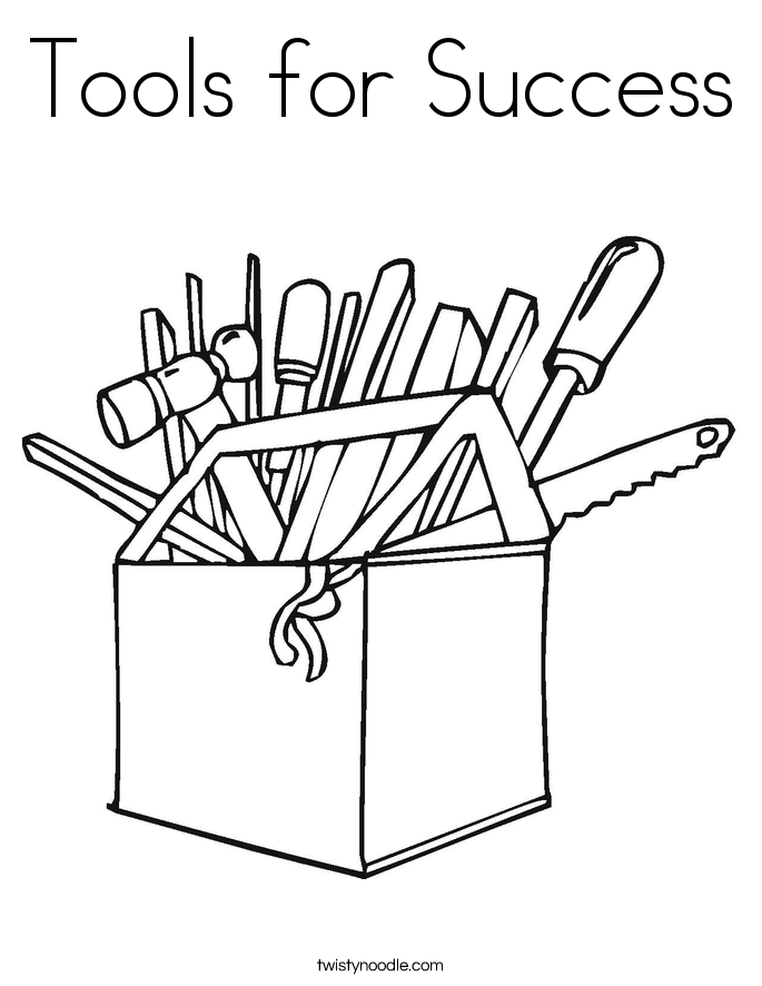 tools coloring sheet - Vatoz.atozdevelopment.co