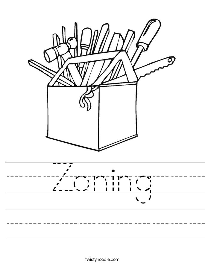 Zoning Worksheet