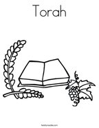 Judaism Coloring Pages - Twisty Noodle