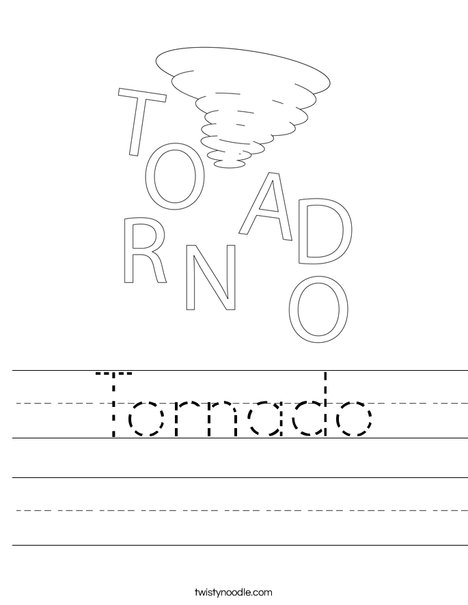 Tornado Fill-In-the-Blank | Worksheets, Weather and Homeschool