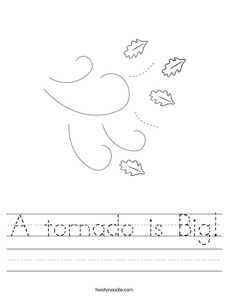 Tornado Activities: EnchantedLearning.com