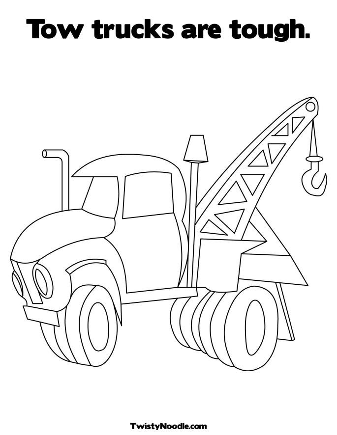 free jacked up ford coloring pages