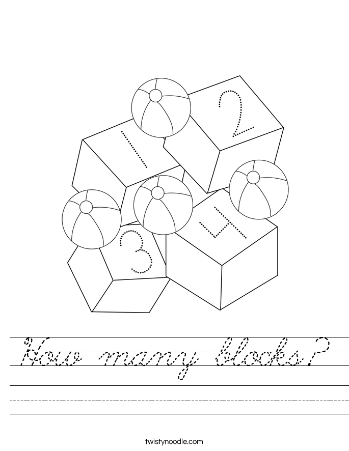 How many blocks worksheet apps directories