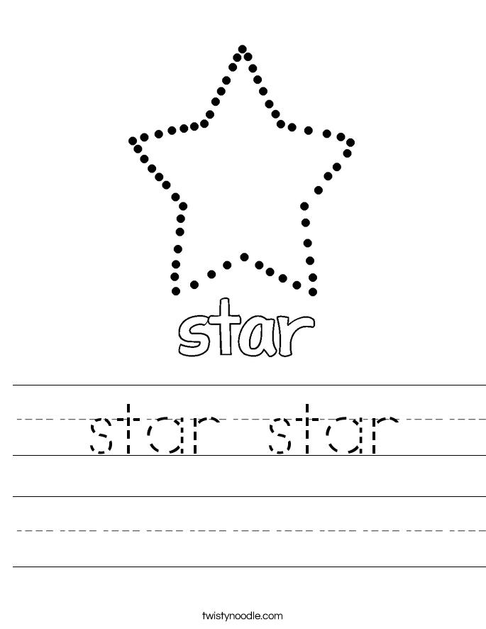 star star Worksheet