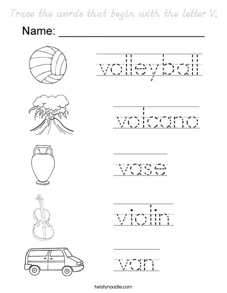 words with the letter x trace the words that begin with the letter v coloring page 25773 | trace the words that begin with the letter v coloring page dnoutline png 468x609 q85