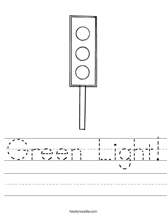 Green Light! Worksheet