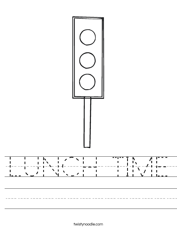 LUNCH TIME Worksheet