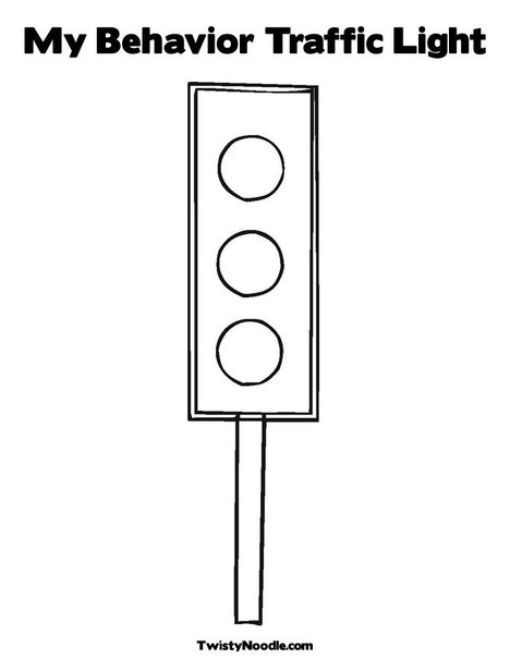 stop light behavior chart