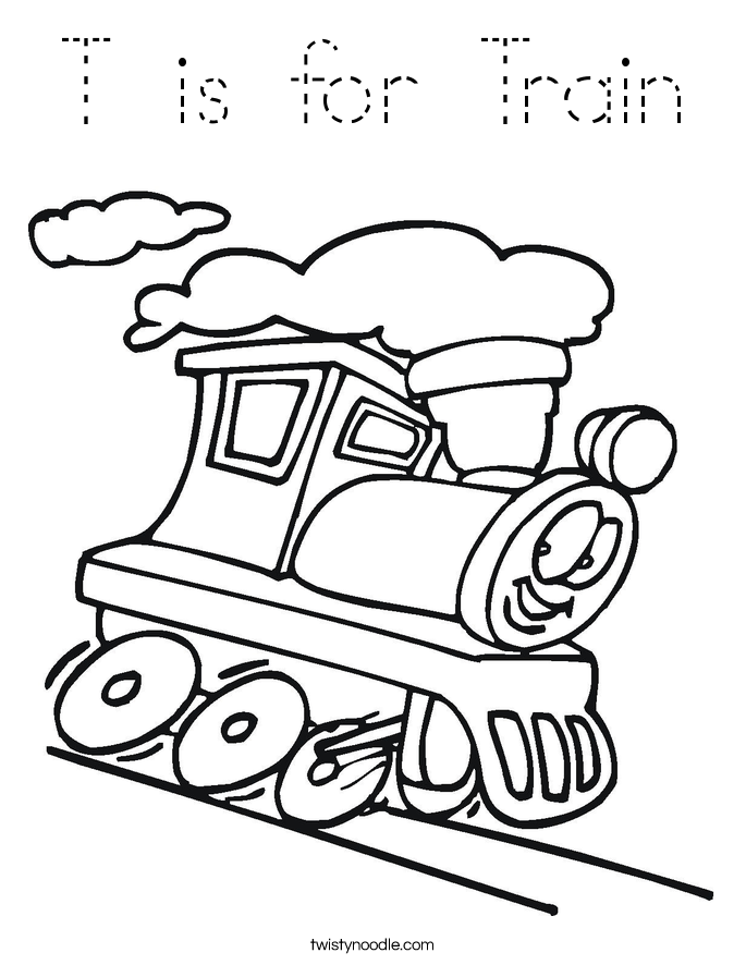 Картинки поезда для детей с вагонами черно белые печать
