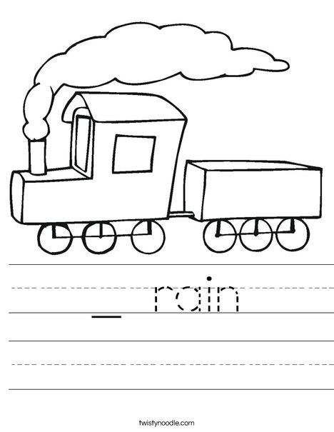 S is for Steam Worksheet