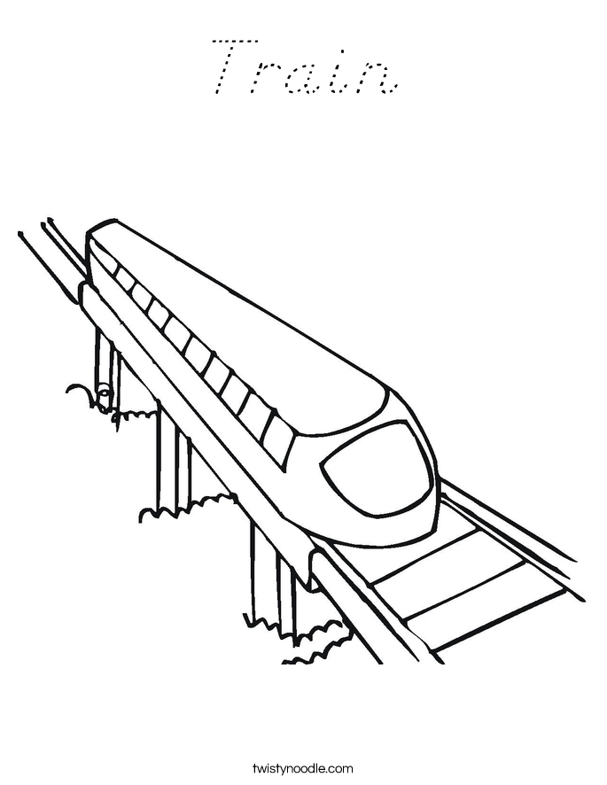 Bnsf Freight Train Pages Coloring Pages