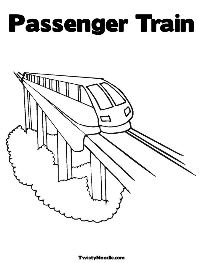 Amtrak train colouring pages for Amtrak coloring pages