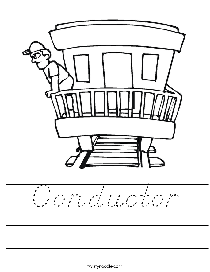 Conductor Worksheet
