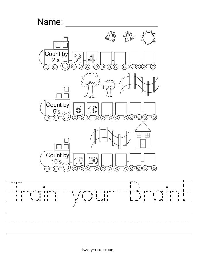 Train your Brain! Worksheet
