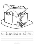a treasure chest Worksheet
