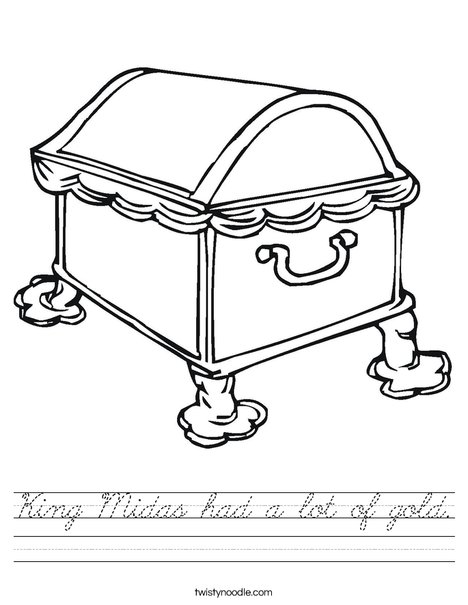 King Midas Had A Lot Of Gold Worksheet
