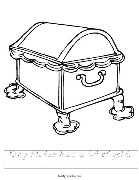 Treasure Chest1 Worksheet