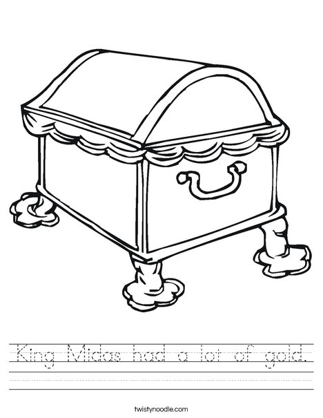 Treasure Chest1 Worksheet