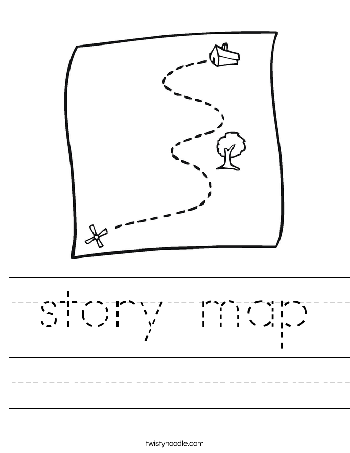 Story Map Worksheet Worksheets for all | Download and Share ...
