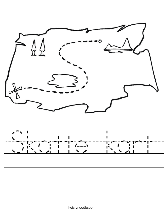 Skatte kart Worksheet