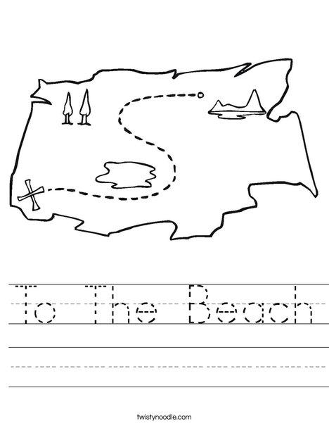 to the beach worksheet twisty noodle. Black Bedroom Furniture Sets. Home Design Ideas