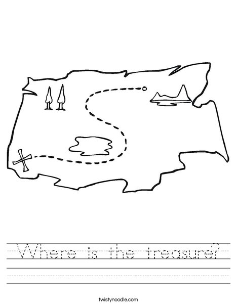 Treasure Map1 Worksheet