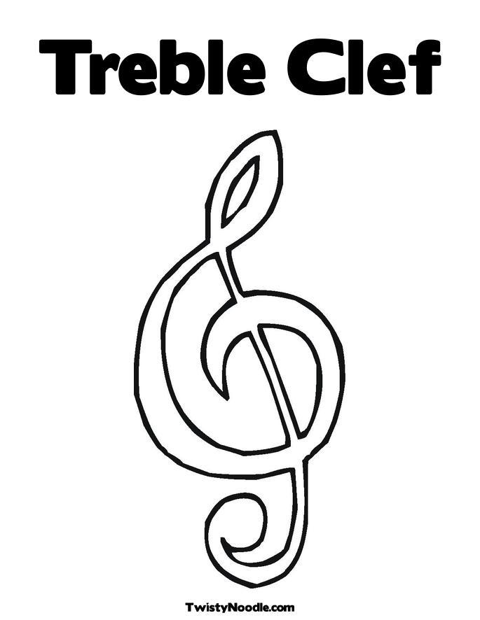 treble clef coloring pages - Vatoz.atozdevelopment.co