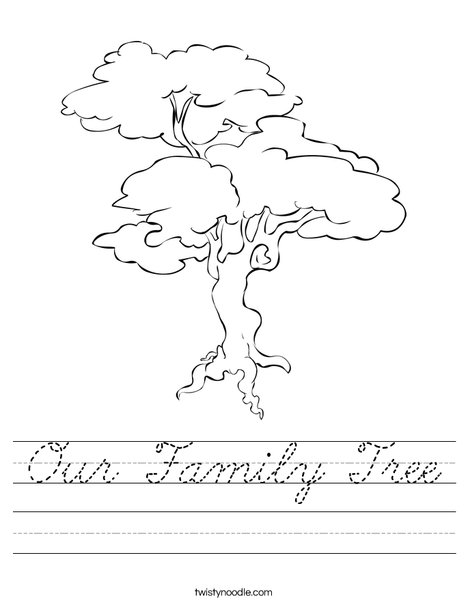 Tree Worksheet