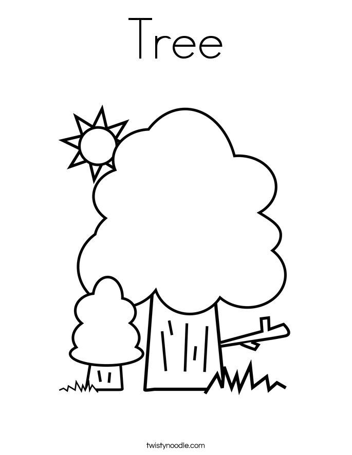 Free Coloring Pages Of Our Family Tree