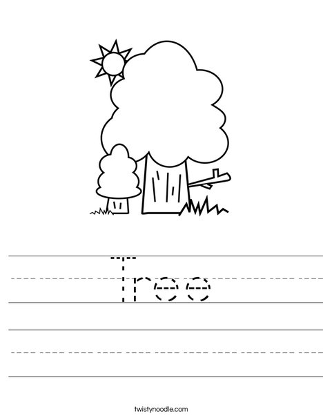 Trees Worksheet