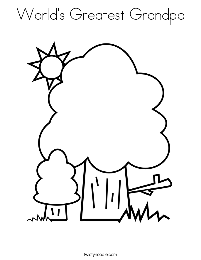 worlds greatest grandpa coloring pages - photo#2
